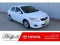Toyota Corolla LE Super White photo #1