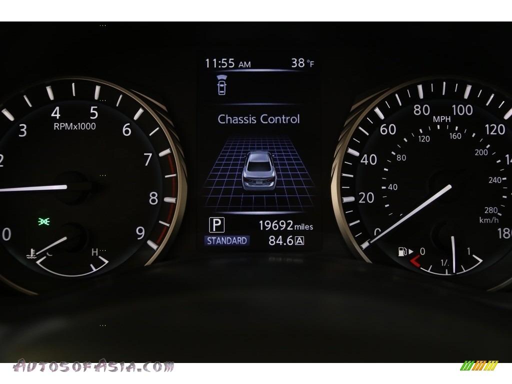 2019 Q50 3.0t AWD - Midnight Black / Graphite photo #7