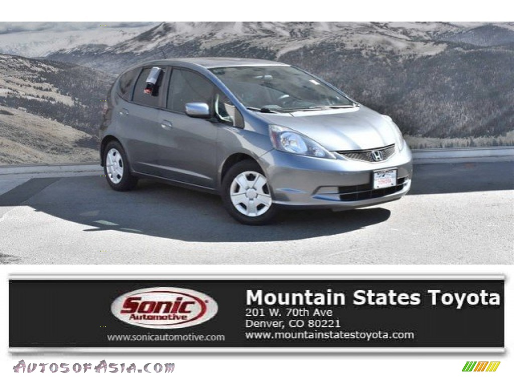Polished Metal Metallic / Gray Honda Fit