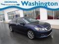 Honda Accord Sport Sedan Obsidian Blue Pearl photo #1
