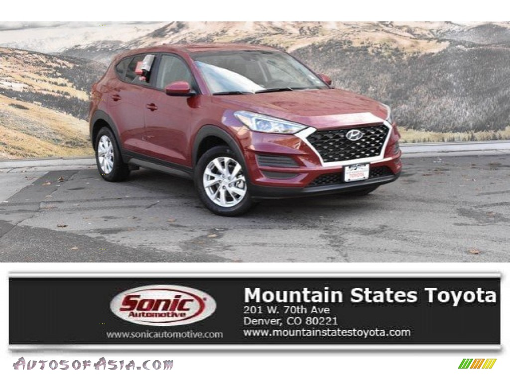 2019 Tucson SE AWD - Gemstone Red / Black photo #1
