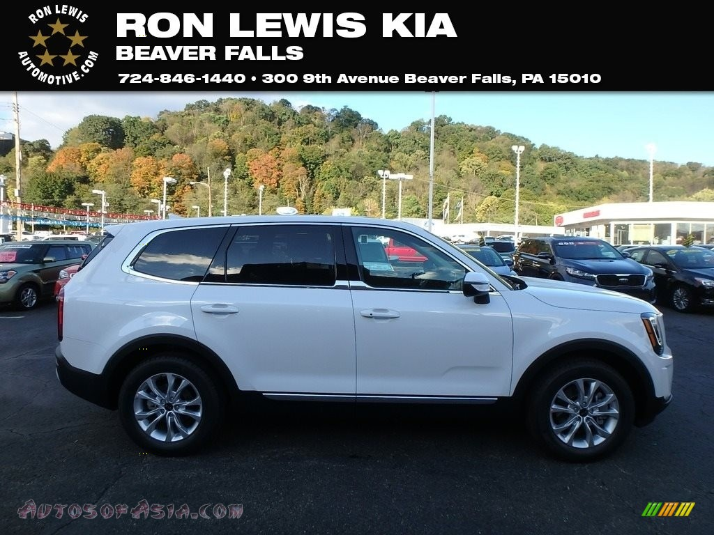 2020 Telluride LX AWD - Snow White Pearl / Black photo #1