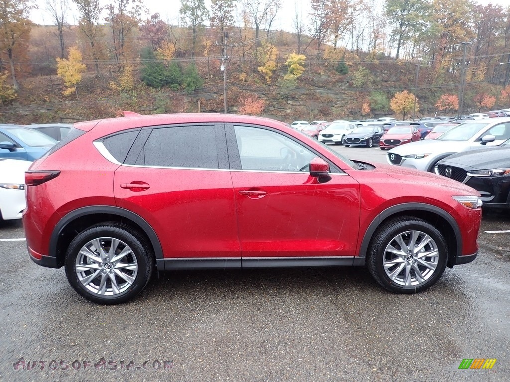 2019 CX-5 Grand Touring AWD - Soul Red Crystal Metallic / Black photo #1