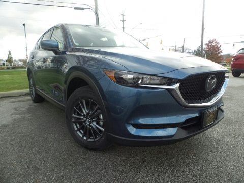 Eternal Blue Mica 2019 Mazda CX-5 Touring AWD