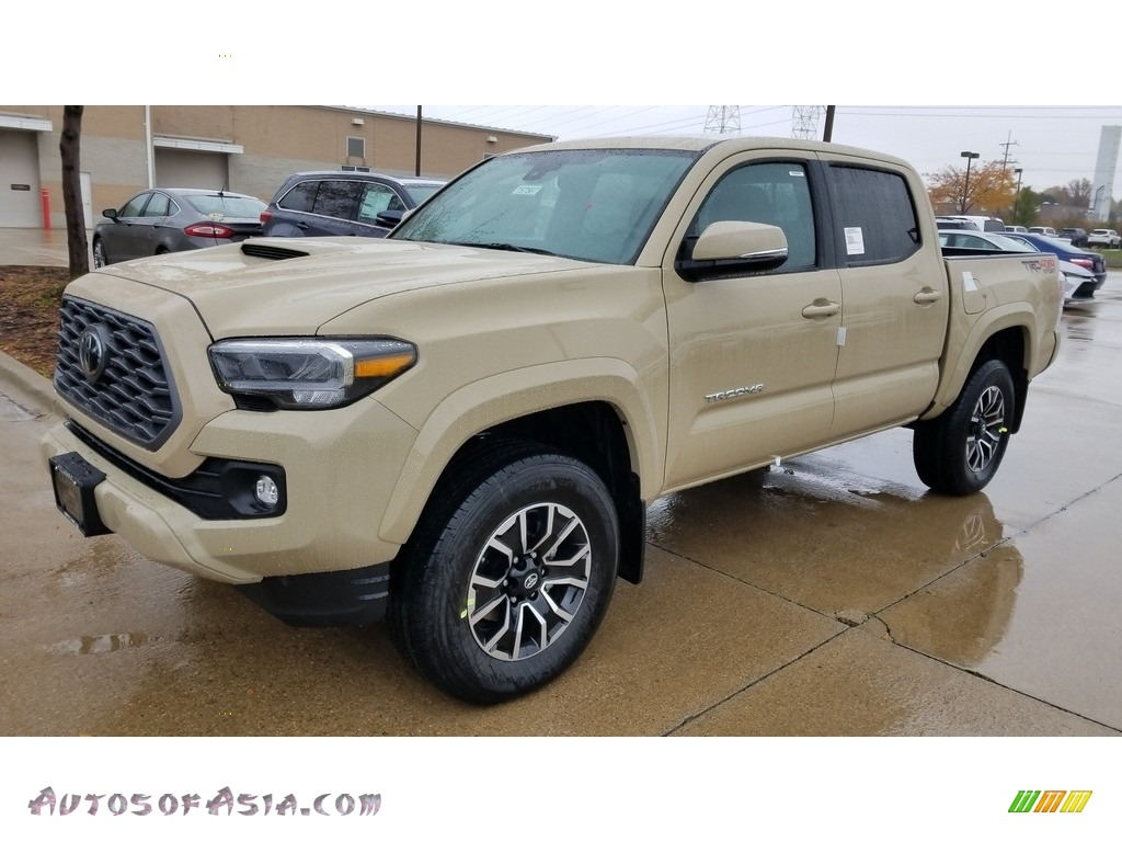 2020 Toyota Tacoma Trd Sport Double Cab 4x4 In Quicksand 303152 Autos Of Asia Japanese And Korean Cars For Sale In The Us