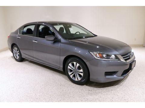Modern Steel Metallic 2014 Honda Accord LX Sedan