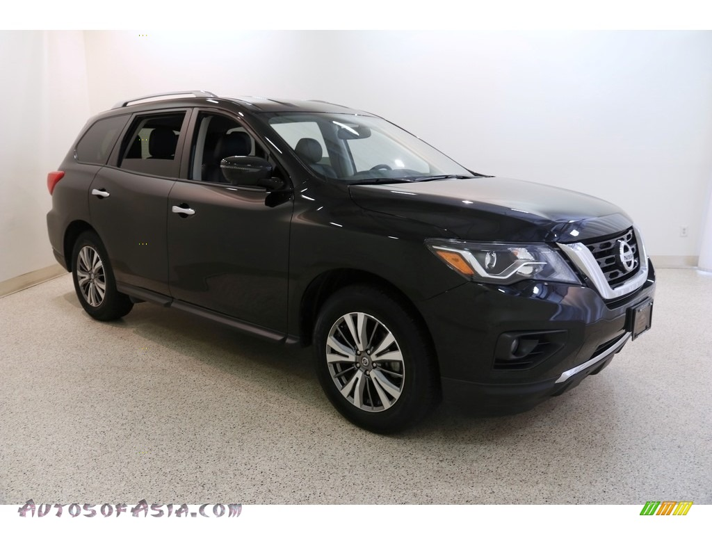2019 Pathfinder SL 4x4 - Magnetic Black Pearl / Charcoal photo #1