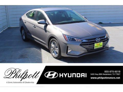 Machine Gray 2020 Hyundai Elantra SE