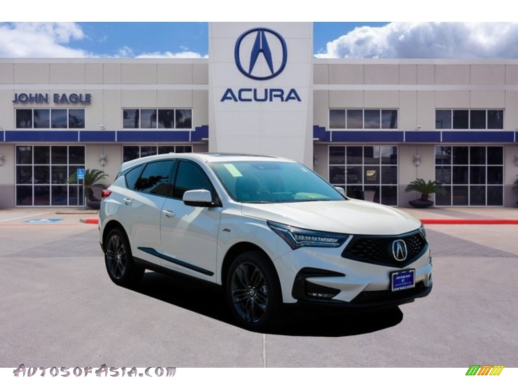 2020 RDX A-Spec AWD - Lunar Silver Metallic / Ebony photo #1