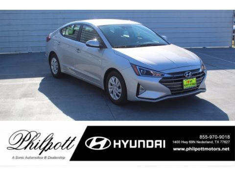Symphony Silver 2020 Hyundai Elantra SE