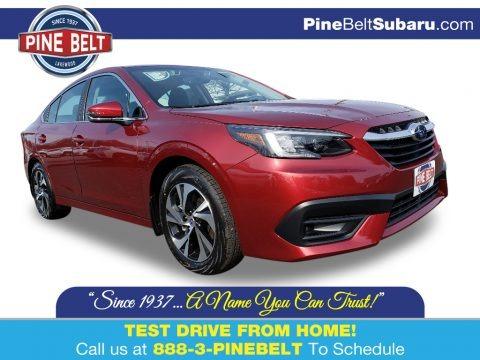 Crimson Red Pearl 2020 Subaru Legacy 2.5i Premium