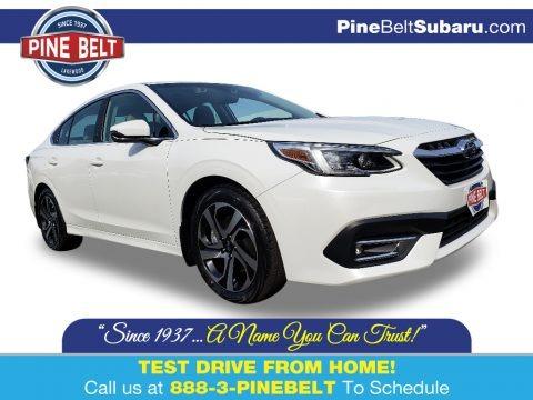 Crystal White Pearl 2020 Subaru Legacy Limited XT
