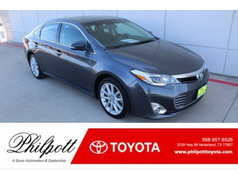Magnetic Gray Metallic 2015 Toyota Avalon Limited