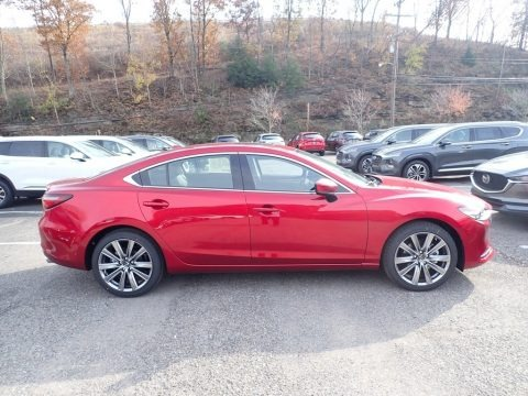 Soul Red Crystal Metallic 2020 Mazda Mazda6 Grand Touring Reserve