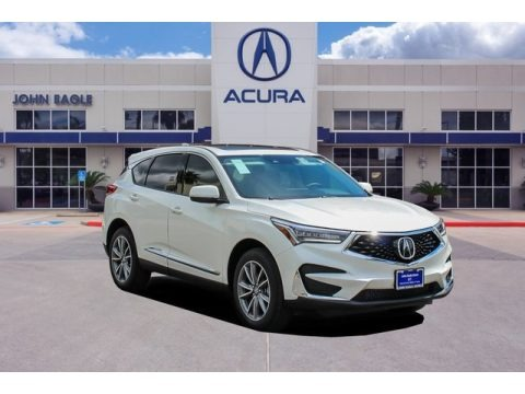 White Diamond Pearl 2019 Acura RDX Technology