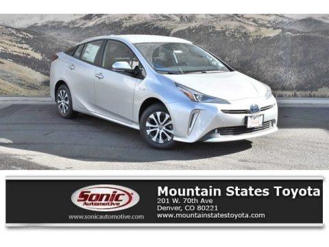 Classic Silver Metallic 2020 Toyota Prius LE