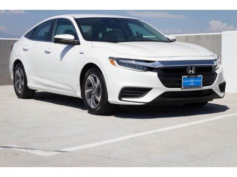 Platinum White Pearl 2020 Honda Insight EX