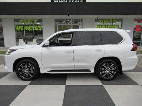 Eminent White Pearl 2019 Lexus LX 570