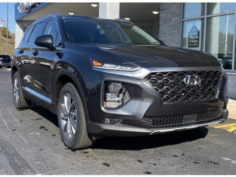 Machine Gray 2020 Hyundai Santa Fe SEL AWD