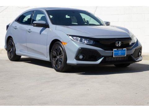 Sonic Gray Pearl 2020 Honda Civic EX-L Hatchback
