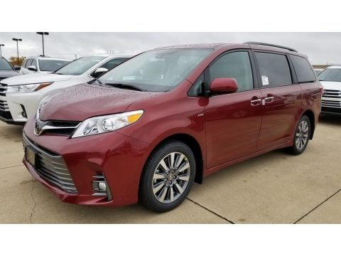 Salsa Red Pearl 2020 Toyota Sienna XLE AWD