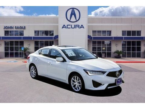 Platinum White Pearl 2020 Acura ILX