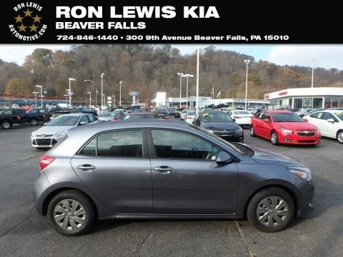 Phantom Gray 2020 Kia Rio S 5 Door