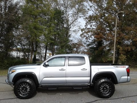 Silver Sky Metallic 2019 Toyota Tacoma TRD Off-Road Double Cab 4x4