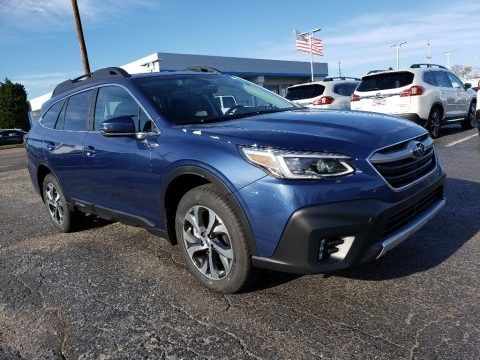 Abyss Blue Pearl 2020 Subaru Outback 2.5i Limited
