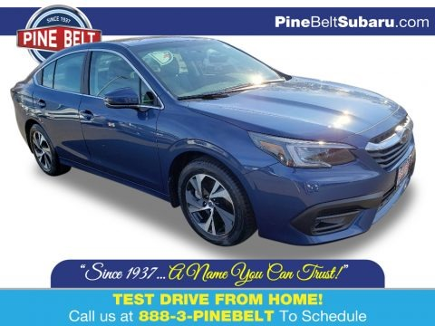 Abyss Blue Pearl 2020 Subaru Legacy 2.5i Premium