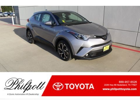 Silver Knockout Metallic 2019 Toyota C-HR Limited