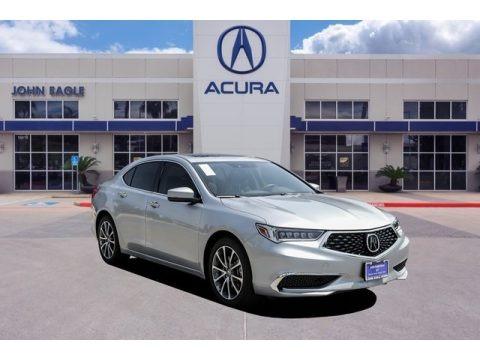 Lunar Silver Metallic 2020 Acura TLX V6 Sedan