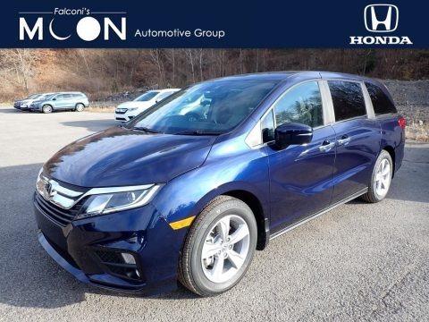 Obsidian Blue Pearl 2020 Honda Odyssey EX-L