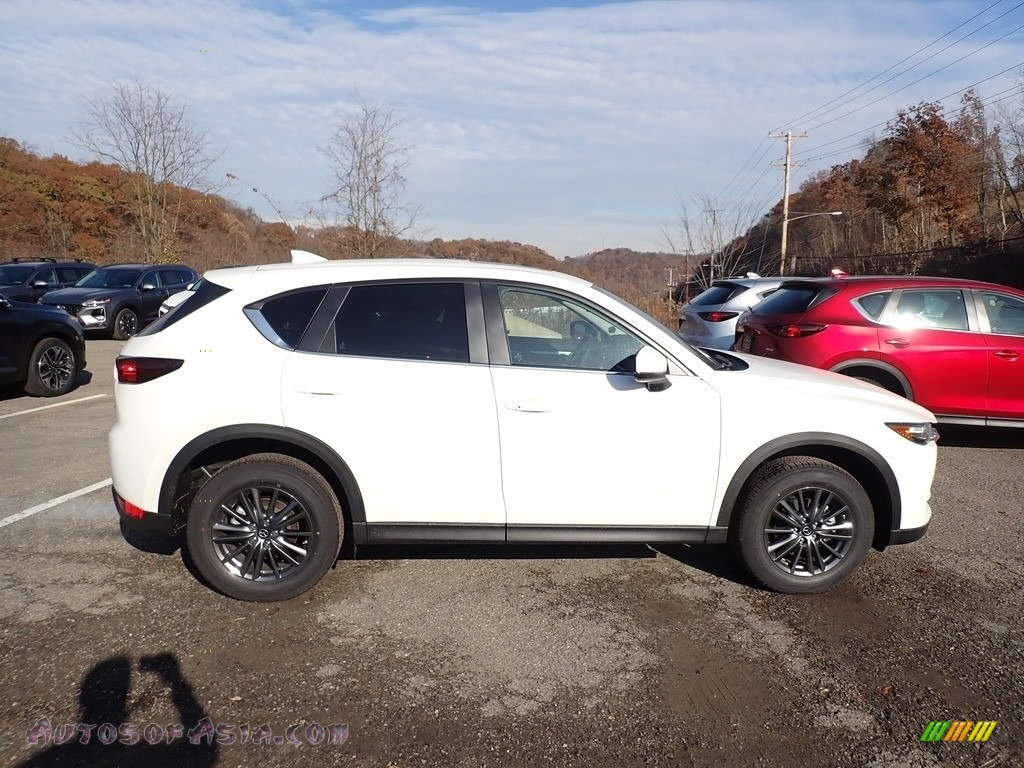 2019 CX-5 Touring AWD - Snowflake White Pearl Mica / Black photo #1