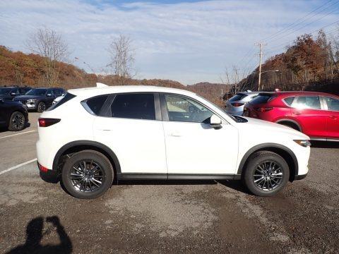 Snowflake White Pearl Mica 2019 Mazda CX-5 Touring AWD