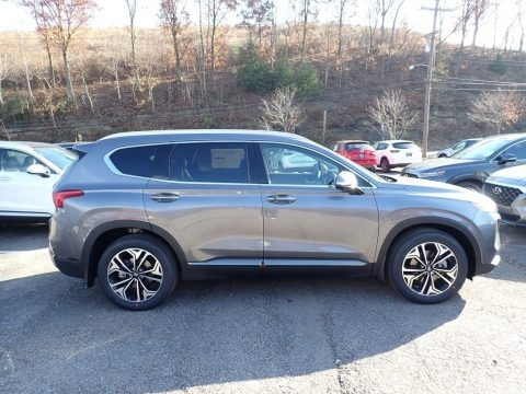 Machine Gray 2020 Hyundai Santa Fe Limited 2.0 AWD