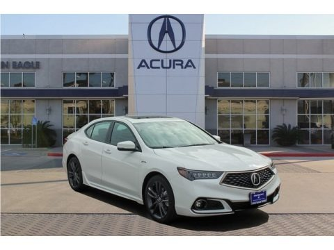 Modern Steel Metallic 2019 Acura TLX A-Spec Sedan