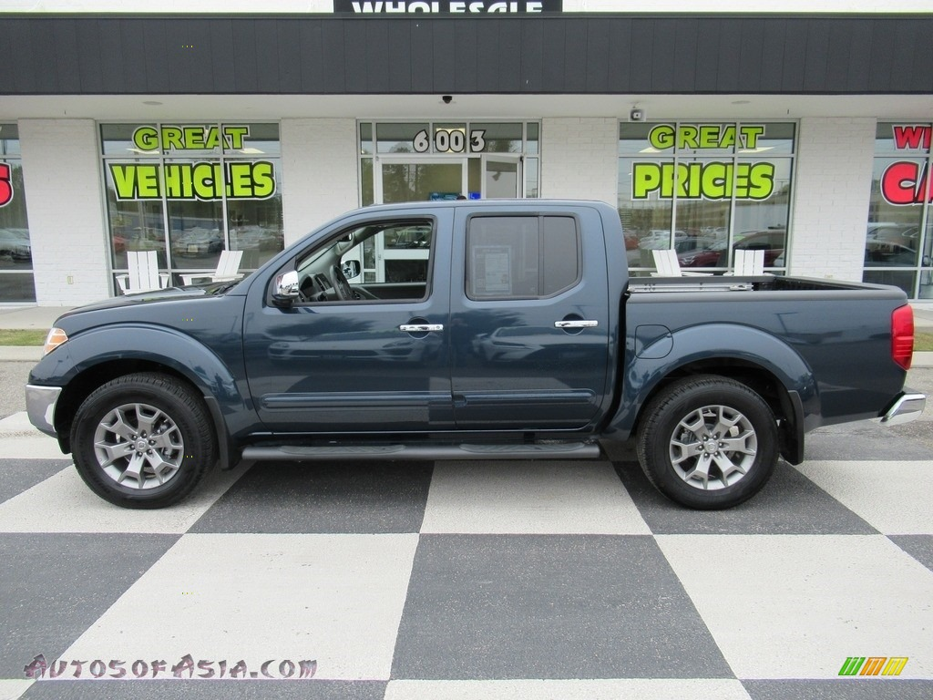 2019 Frontier SL Crew Cab 4x4 - Arctic Blue Metallic / Steel photo #1