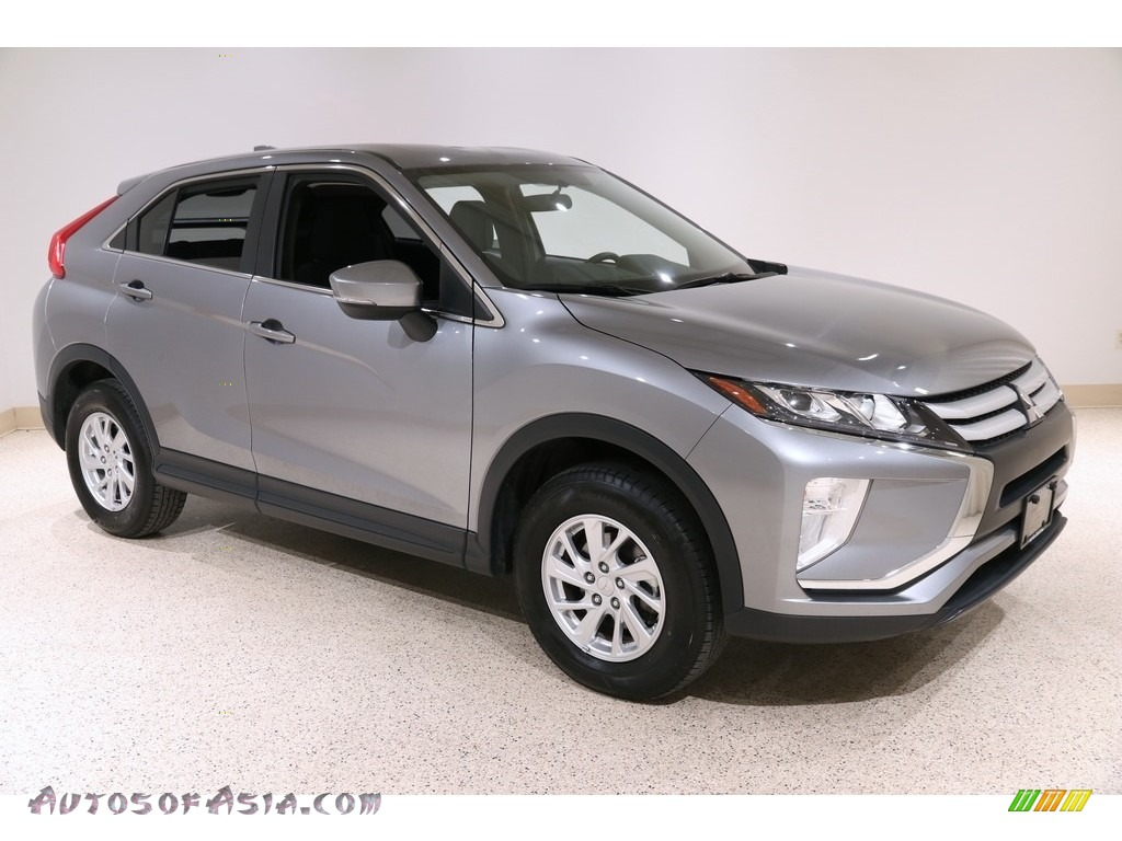 2019 Eclipse Cross ES S-AWC - Mercury Gray Metallic / Black photo #1