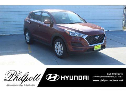 Gemstone Red 2020 Hyundai Tucson SE