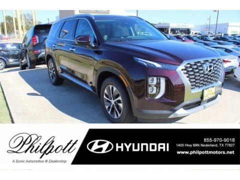 Sierra Burgandy 2020 Hyundai Palisade SEL