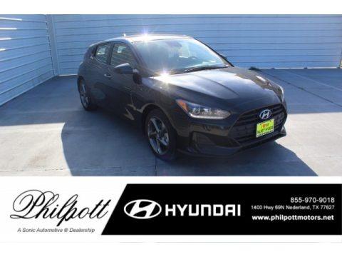 Ultra Black 2020 Hyundai Veloster 2.0