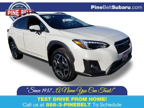 Crystal White Pearl 2019 Subaru Crosstrek 2.0i Limited