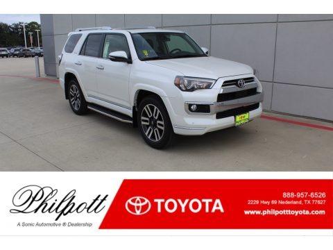 Blizzard White Pearl 2020 Toyota 4Runner Limited