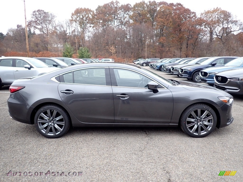2020 Mazda6 Grand Touring - Machine Gray Metallic / Black photo #1