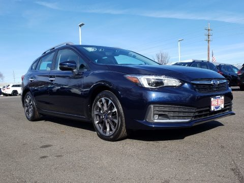Dark Blue Pearl 2020 Subaru Impreza Limited 5-Door
