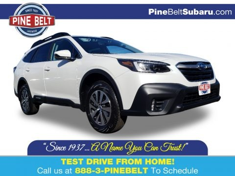 Crystal White Pearl 2020 Subaru Outback 2.5i Premium