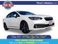 Subaru Impreza Premium Sedan Crystal White Pearl photo #1
