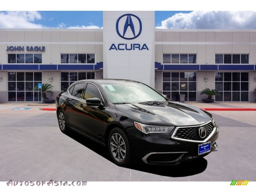 2020 TLX Sedan - Majestic Black Pearl / Parchment photo #1