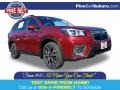 Subaru Forester 2.5i Limited Crimson Red Pearl photo #1